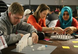 Bridging cultures using Lego