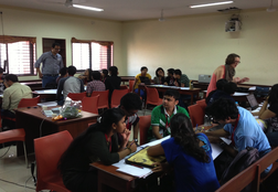 Sujoy mentoring 8 student groups